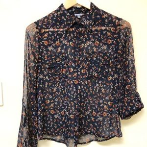 Women's blouse by Charlotte Russe size medium.